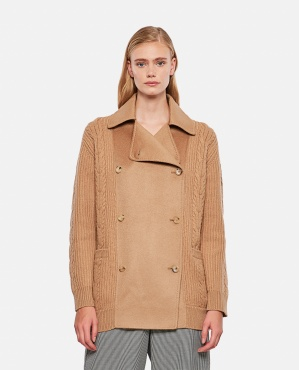 ROMANIAN JACKET IN WOOL AND CASHMERE Women Max Mara 000346100050466 1