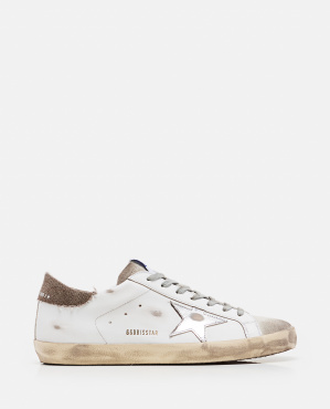 Superstar classic sneakers in leather and suede Men Golden Goose 000292350043041 1