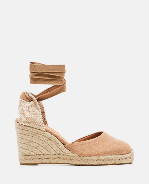 Carina espadrille in canvas with 9 cm wedge Women Castaner 000286050042238 1
