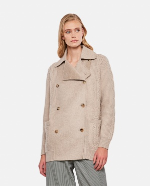 ROMANIAN JACKET IN WOOL AND CASHMERE Women Max Mara 000346100050467 1