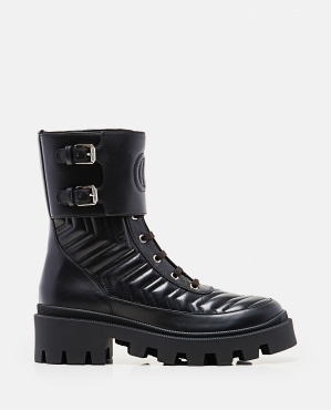 Women's boot with GG detail Women Gucci 000259320038367 1