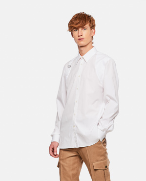 Shirt with strap
