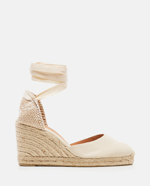 Carina espadrille in canvas with 9 cm wedge Women Castaner 000286040042236 1