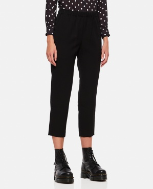 High-waisted wool trousers Women Comme des Garcons 000357380052043 1