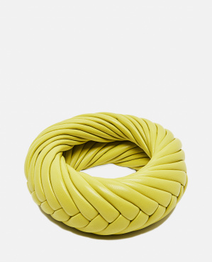 Braided Nappa leather bracelet