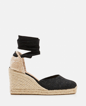 Carina espadrille in canvas with 9 cm wedge Women Castaner 000286180042231 1