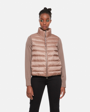Padded sweatshirt  Women Moncler 000259830038464 1