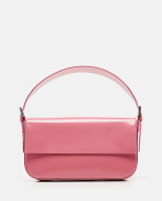 Manu semi-patent leather bag
