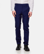 Tailored wool and mohair trousers