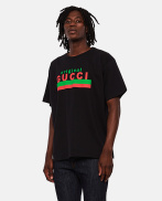 Oversized T-shirt with 'Original Gucci' print