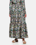 Skirt With Floral Print
