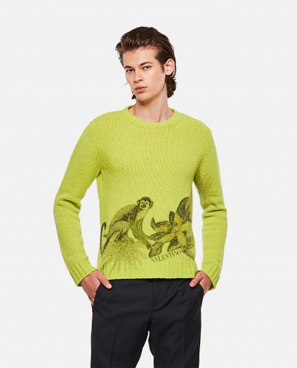 VLTN sweater with print Men Valentino 000263580038966 1