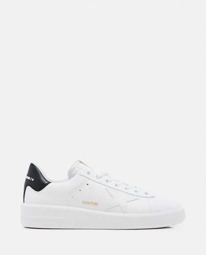 Pure Star Sneaker in pelle Uomo Golden Goose 000308740045277 1