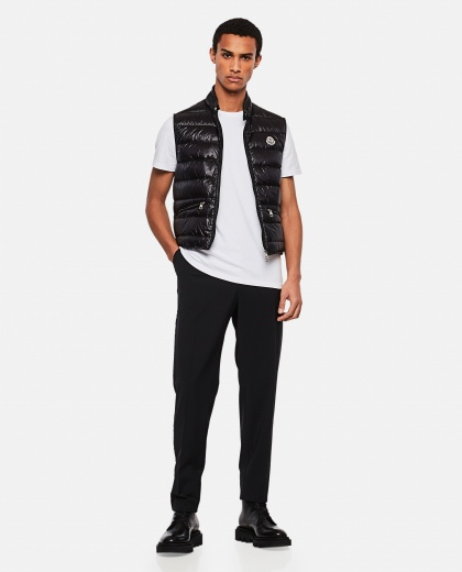 Gui quilted vest Men Moncler 000232590034348 2