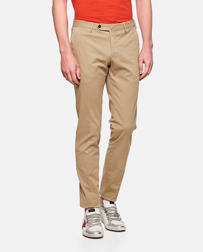 Super slim Pt01 cotton trousers
