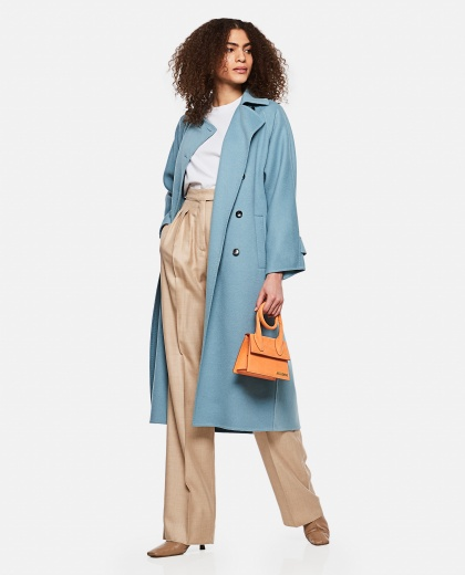 Osol  trench coat in camel wool Women Max Mara 000290290042747 2