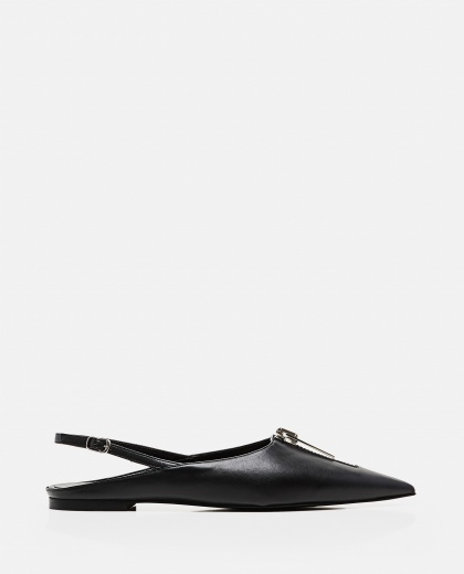 Slingback with zip Women Stella McCartney 000290780042819 1