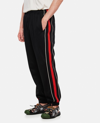 Jogging Pants With Lyre Patches