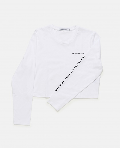 Long Sleeve T- Shirt Women Calvin Klein Jeans 000146500021977 2