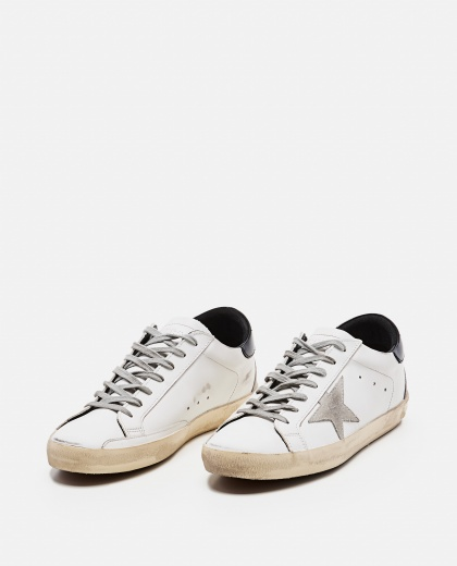'Superstar' sneakers in leather and suede Men Golden Goose 000269300039696 2