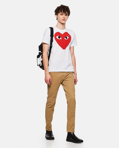 T-shirt with print Men Comme des Garcons Play 000106970016293 2
