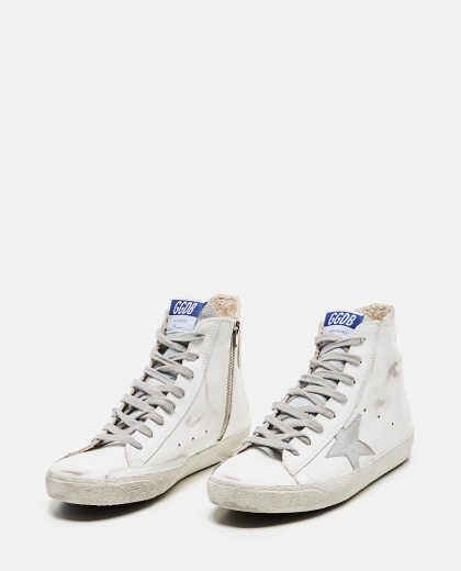 Sneaker francy alta in pelle Donna Golden Goose 000286850042309 2