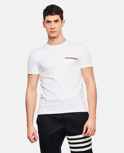 Cotton jersey T-shirt  Men Thom Browne 000048530012612 1