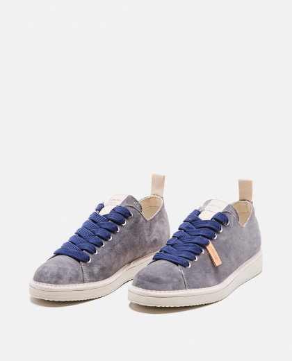 Suede lace-up sneakers  Men Panchic 000237810035167 2