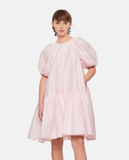 Dress with balloon sleeves Women Cecilie Bahnsen 000304490044674 1