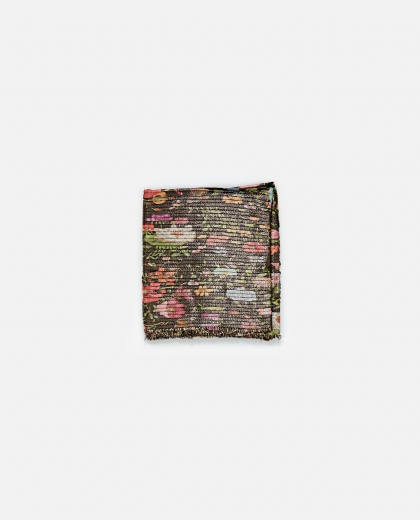 Silk Scarf With Floral Print Women Gucci 000189390028127 2