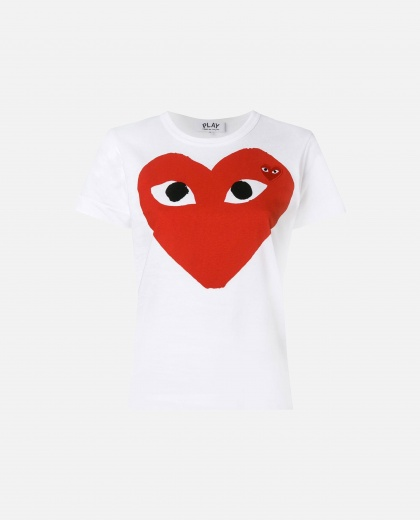 T-shirt with print Women Comme des Garcons Play 000106960016292 1