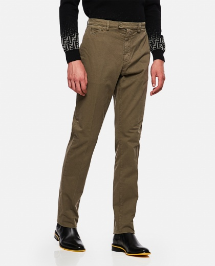 Gabardine trousers Men Fendi Leisure Wear 000267170039425 1