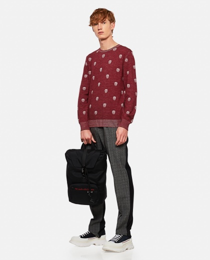 Sweater with multiple skulls Men Alexander McQueen 000290960042837 2