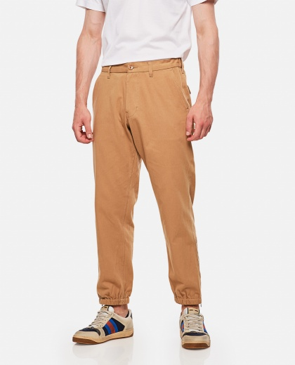Long Cotton Trousers  Men Gucci 000182550027149 1