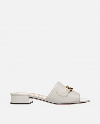 Gucci Zumi leather slider sandal