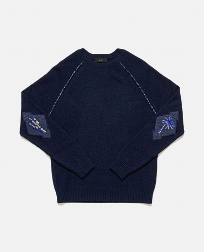 Sweater With Patches On Elbows Men Alanui 000192060028560 2