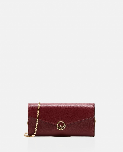 Continental wallet with chain