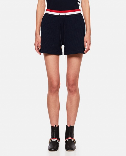 Navy Shorts Women Thom Browne 000255130037679 1