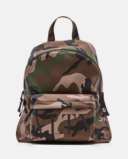 Camouflage 'VLTN' backpack