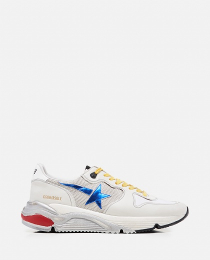Leather and technical fabric Running sole sneakers  Men Golden Goose 000292360043042 1