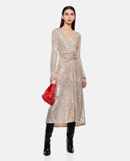 Sierra Silver dress Women Rotate Birger Christensen 000290360042756 2