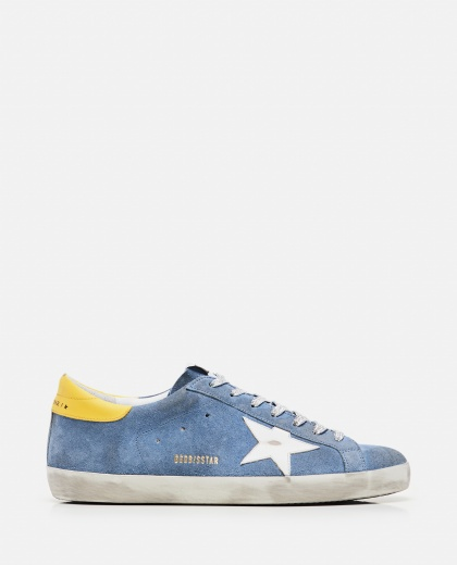 Sneakers Super-star in suede Uomo Golden Goose 000292390043045 1
