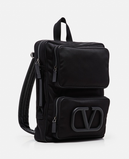 Valentino Garavani Supervee Nylon Backpack Men Valentino 000294840043370 2