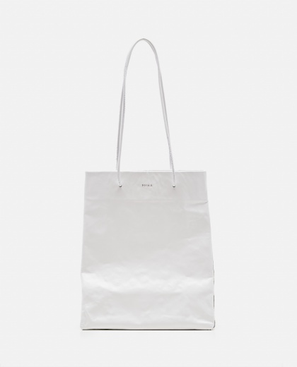 Tote bag with wrinkled effect Women Medea 000262590038852 1
