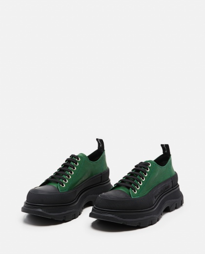 Tread Slick Lace-up Shoes Men Alexander McQueen 000291110042858 2