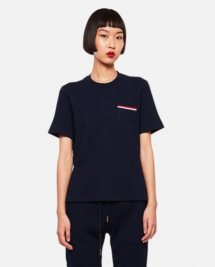 Short-sleeved T-shirt  Women Thom Browne 000255180037686 1