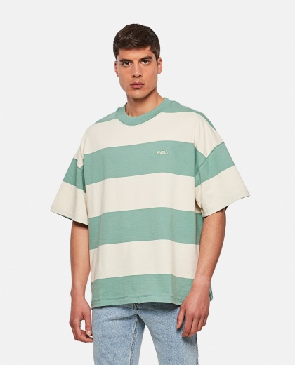 Oversized rugby t-shirt Men AMI Paris 000291410042914 1