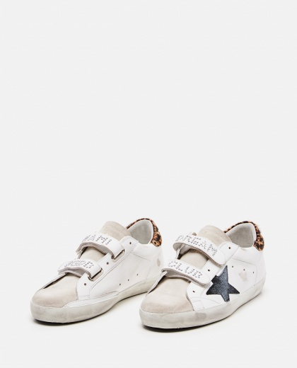 Old School Leather Sneaker Women Golden Goose 000286770042300 2