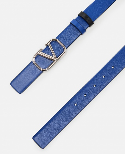 V logo leather belt Men Valentino 000294880043378 2