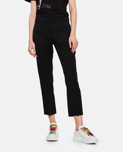 Crop trousers Women Alexander McQueen 000226830033526 1